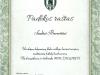 MFK Žalgirio padėkos raštas
